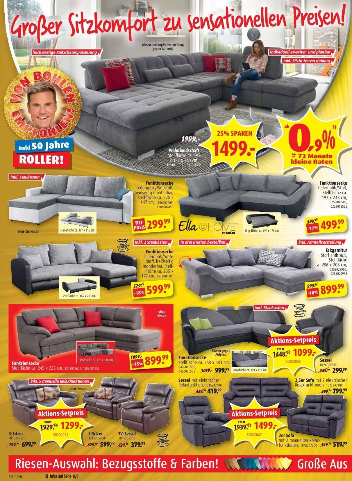 Möbel Roller Sofa