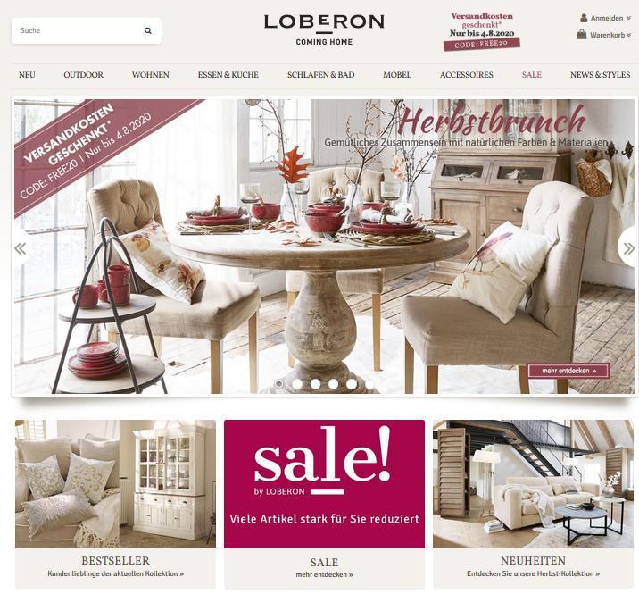 Möbel Wohnzimmer Loberon