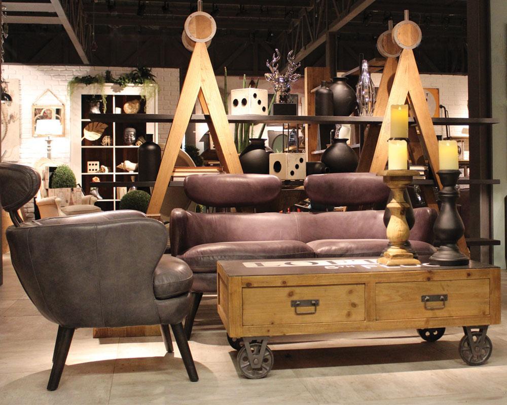Möbelrollen Industrial Style