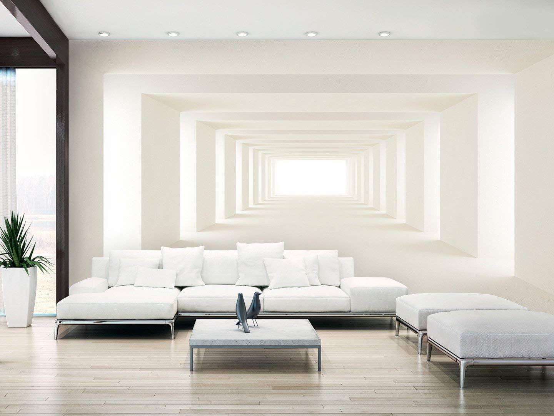 Modern Außergewöhnliche Wandgestaltung Wohnzimmer