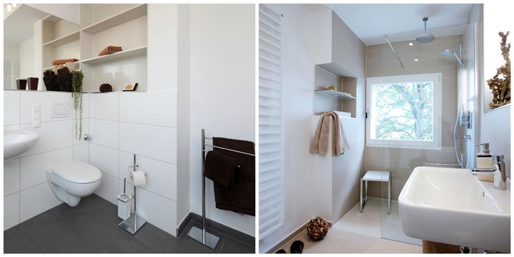 Modern Badezimmer 10 Qm