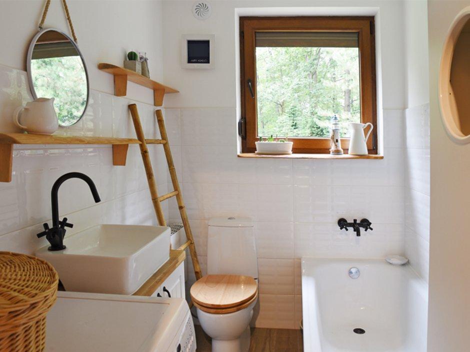 Modern Badezimmer Grau Weiß Gestalten