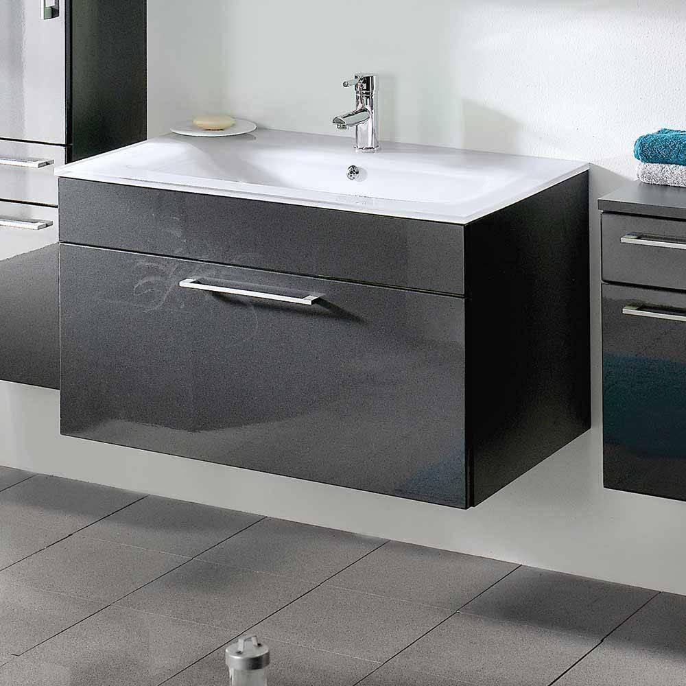 Modern Badezimmermöbel Grau