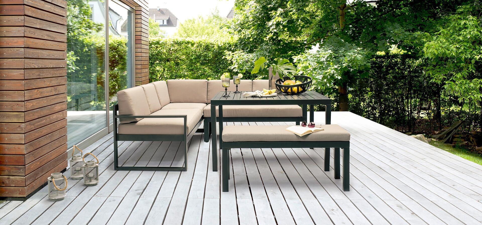 Modern Balkon Lounge Möbel
