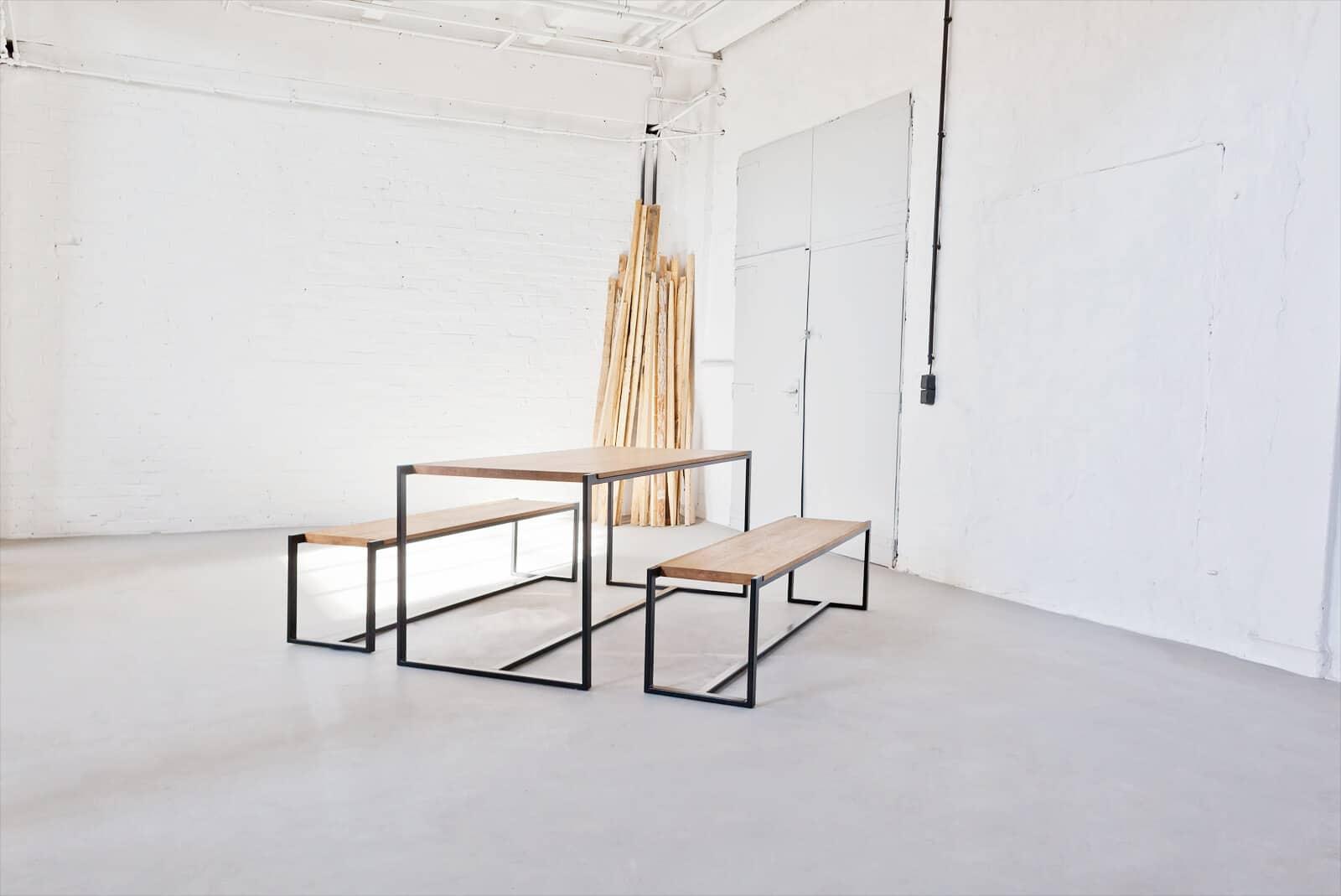 Modern Designer Esstisch Holz
