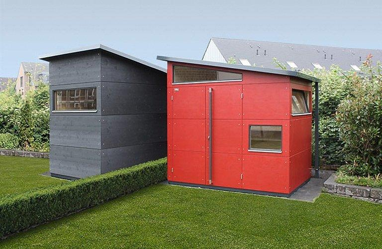 Modern Gartenhaus Holz Pultdach