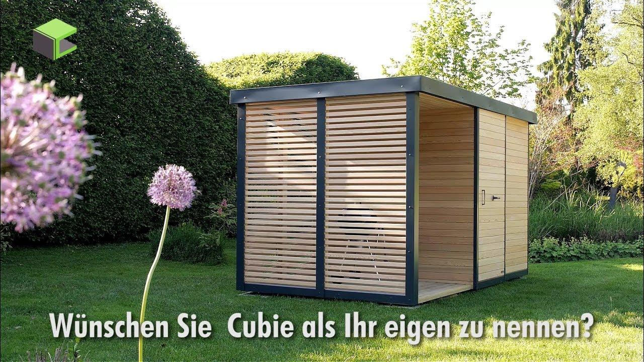 Modern Gartenhaus Klein Holz