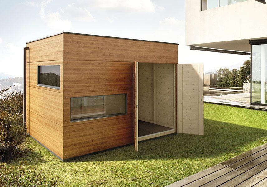 Modern Holz Gerätehaus