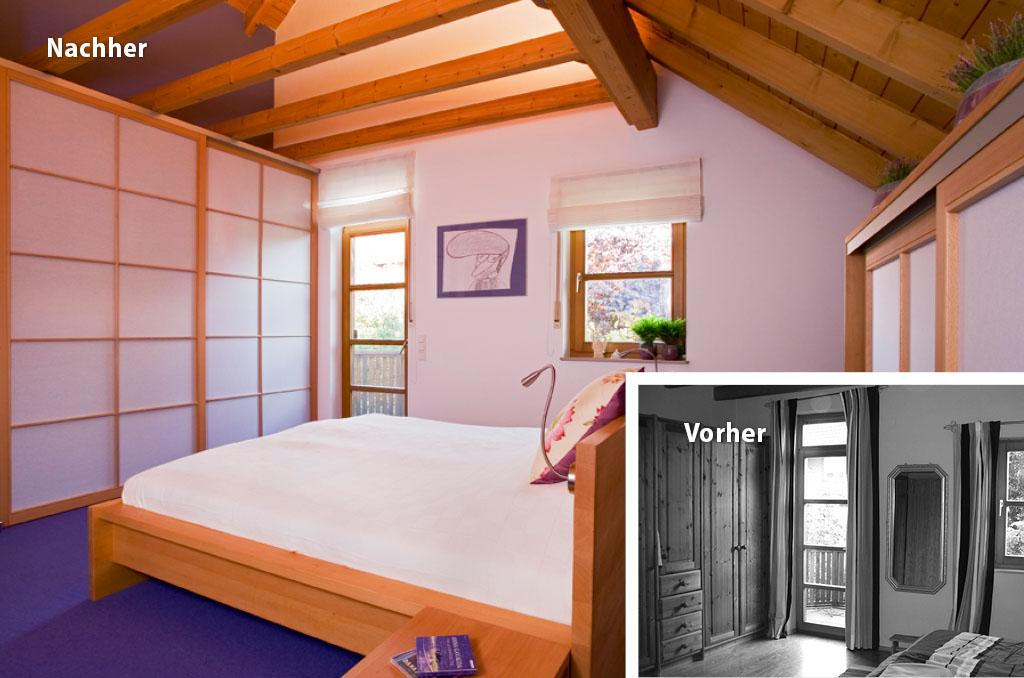 Modern Japanisches Schlafzimmer
