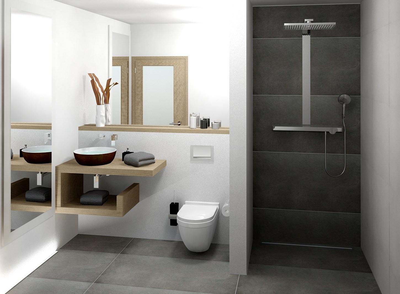 Modern Kleines Bad Mit Dusche Gestalten