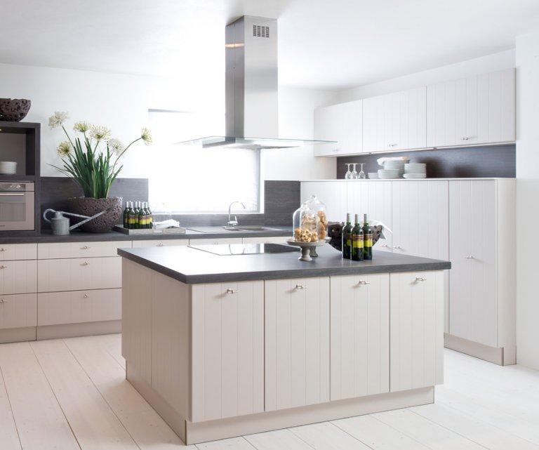 Modern Küchenzeile Landhausstil