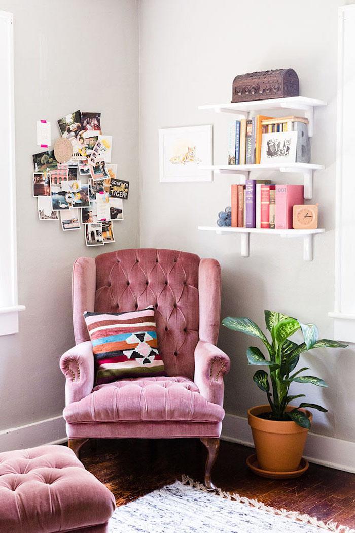 Modern Leseecke Wohnzimmer