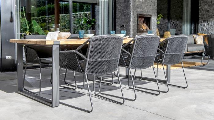 Modern Loungemöbel Terrassenmöbel