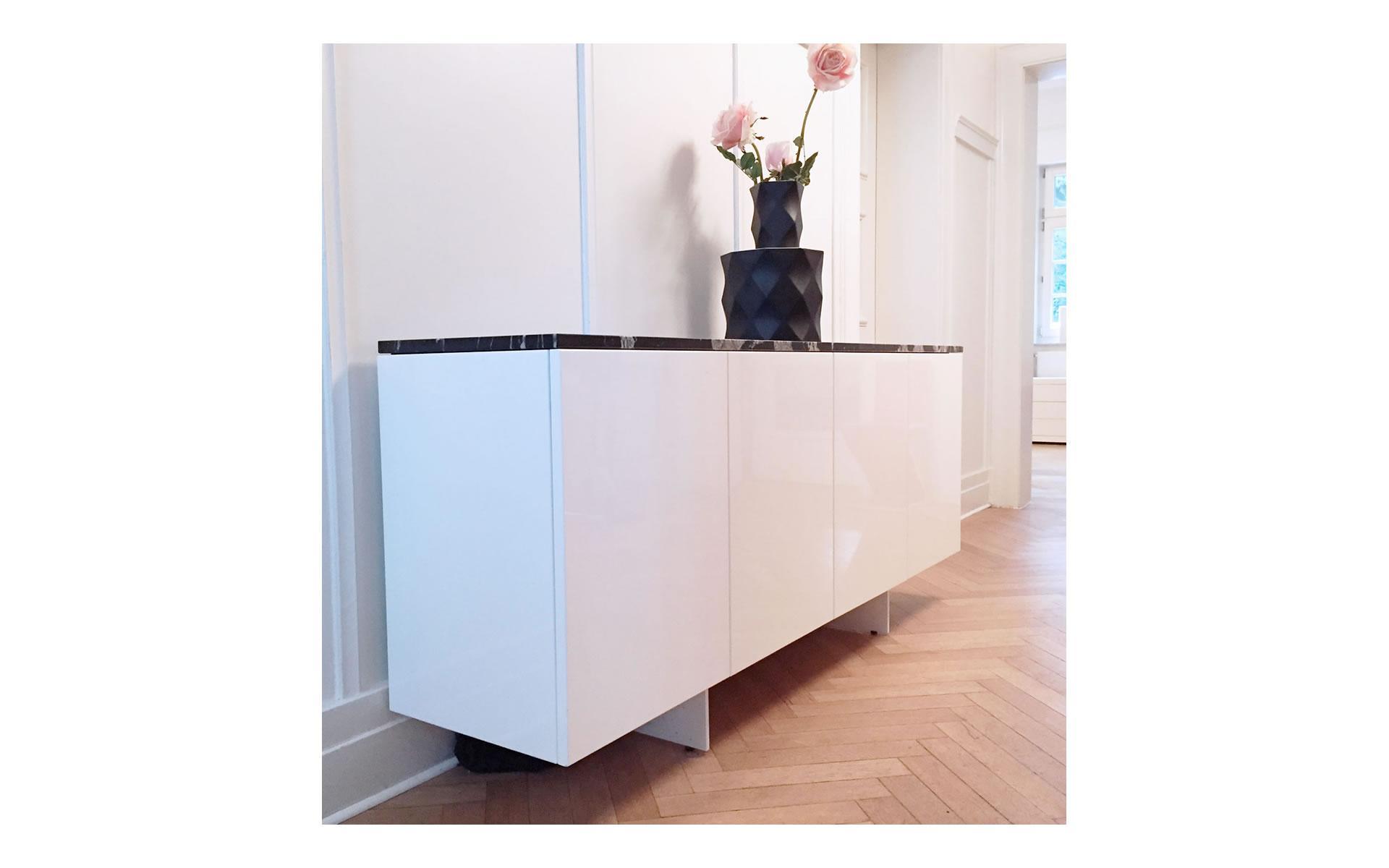 Modern Sideboard Weiß Matt
