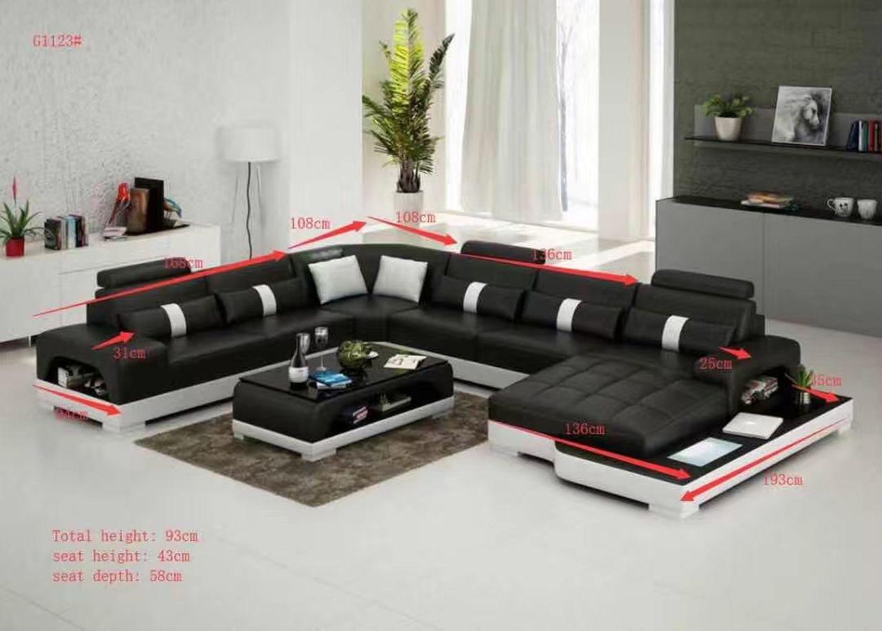 Modern U Couch