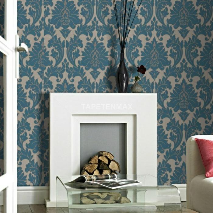 Modern Vliestapete Wohnzimmer Ideen