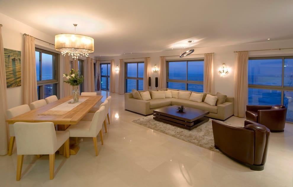 Modern Wohn Esszimmer Gestalten