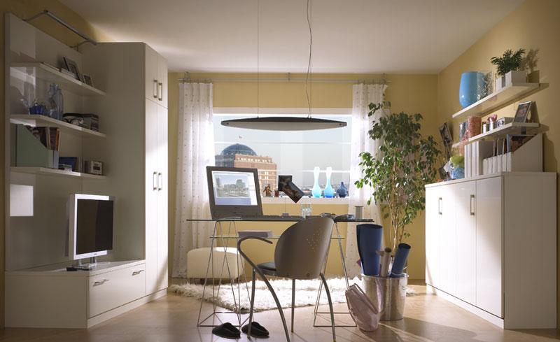 Modern Wohnwand Mit Schrankbett