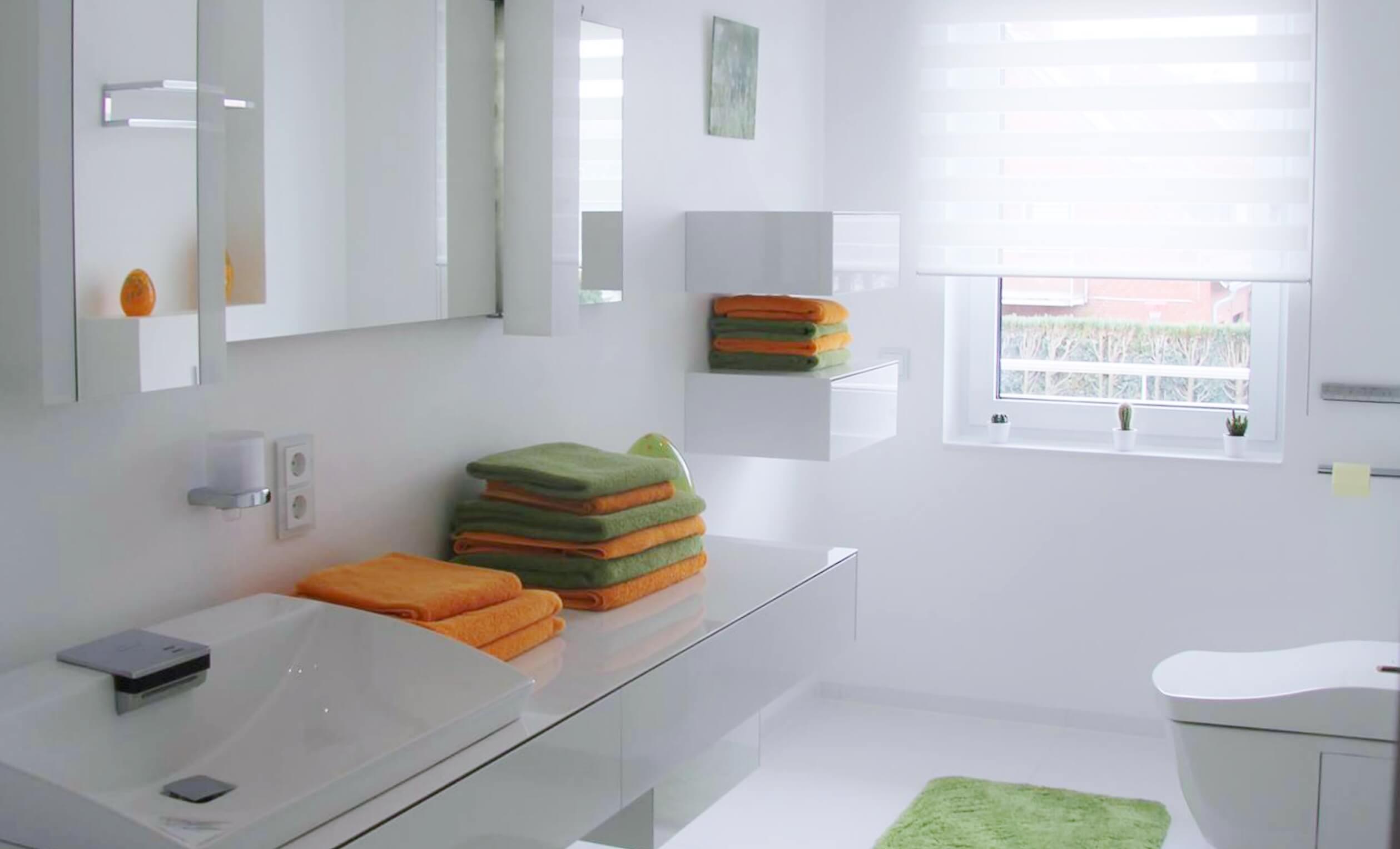 Moderne Dusche Kleines Bad