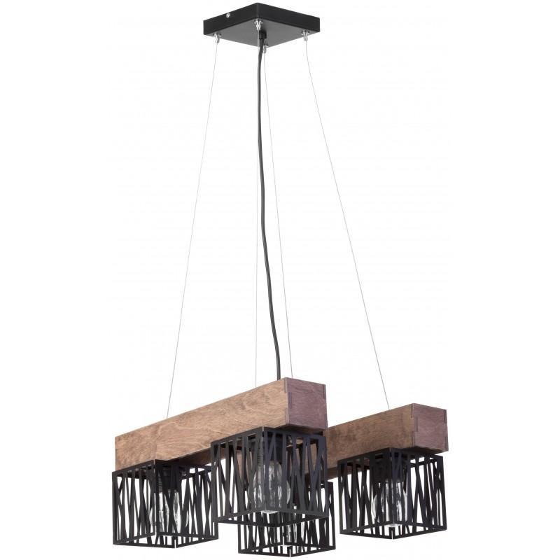 Moderne Esstischlampe Schwarz
