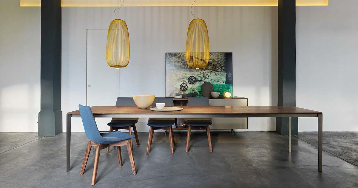 Moderne Esszimmerstühle Leder Design