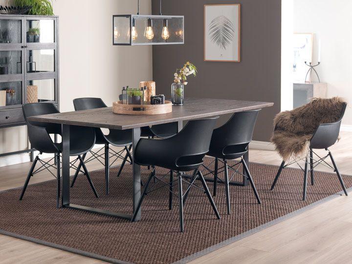 Moderne Esszimmerstühle Schwarz