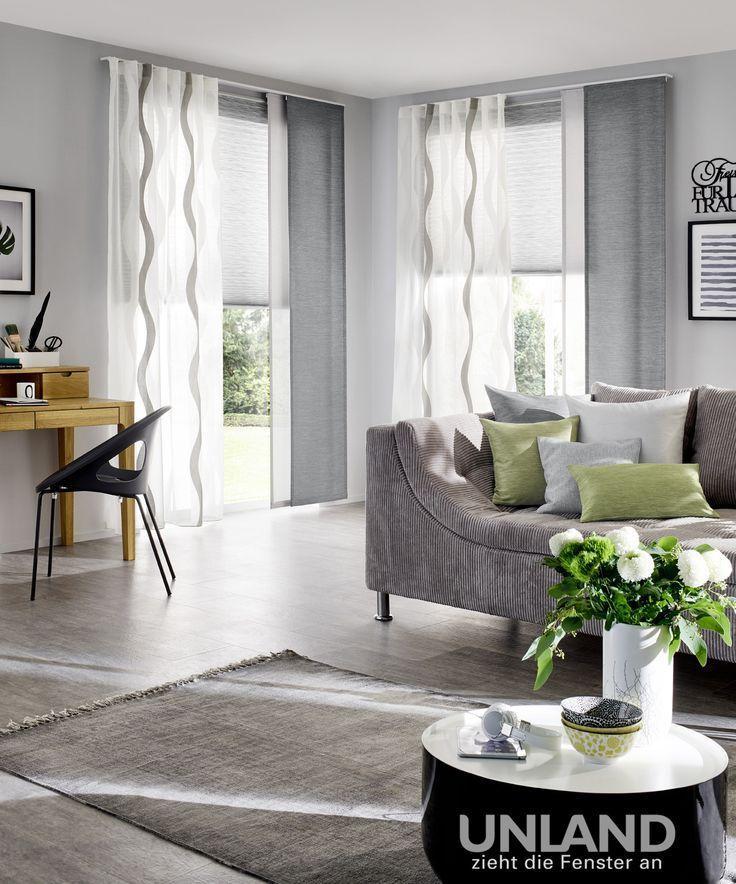 Moderne Gardinen Ideen Gardinen Wohnzimmer