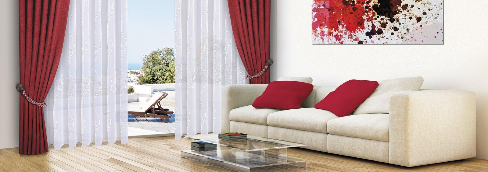 Moderne Gardinen Wohnzimmer Kurz