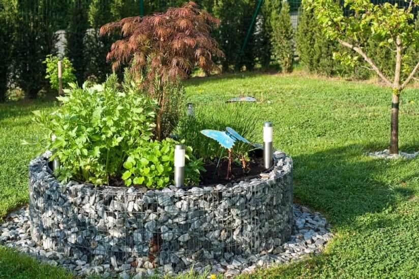 Moderne Gartengestaltung Mit Gabionen