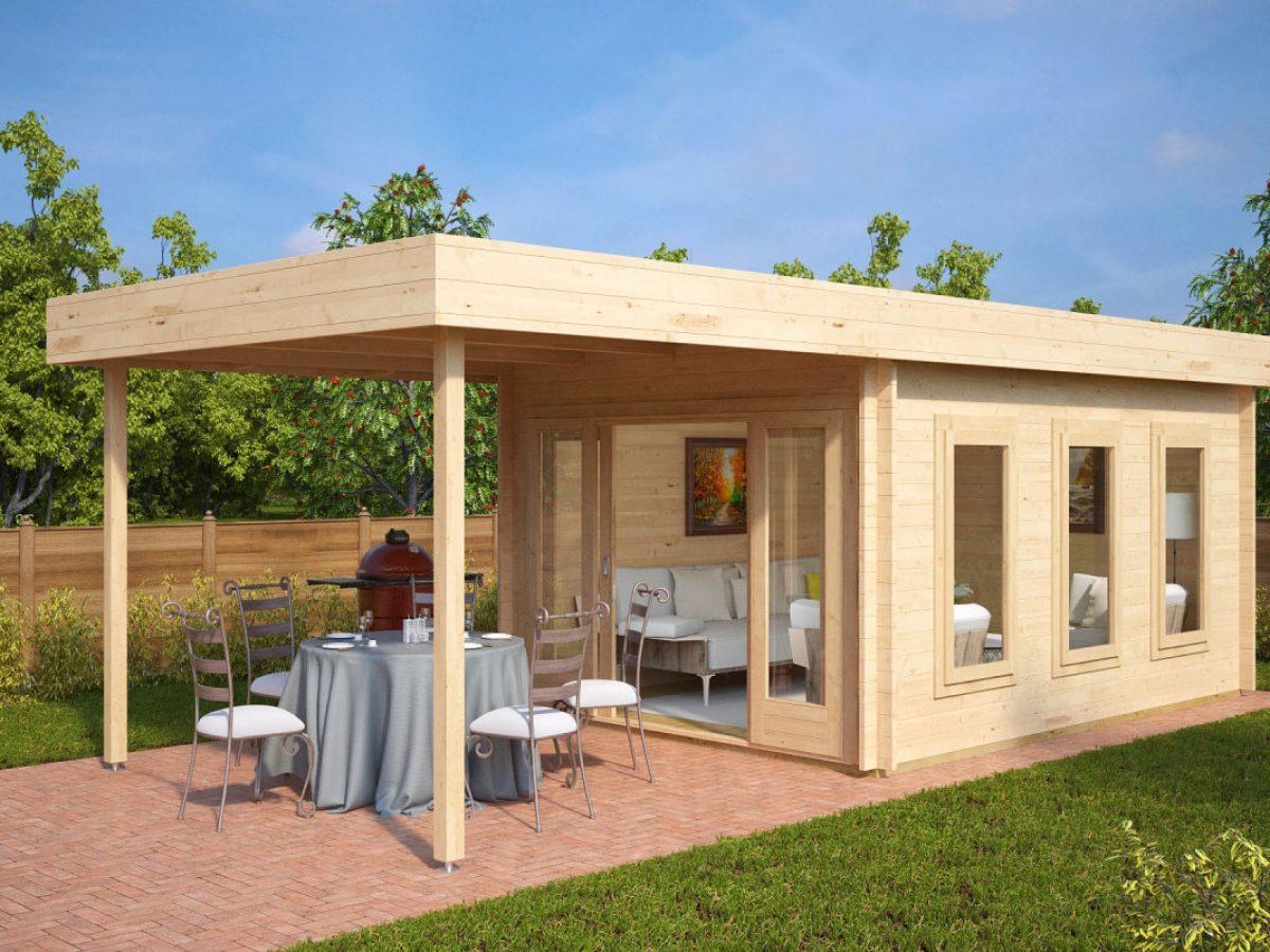 Moderne Gartenhäuser Aus Holz