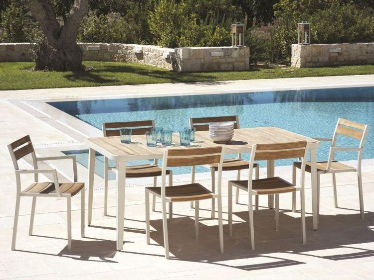 Moderne Gartenmöbel Lounge