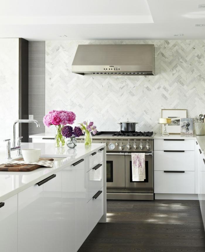 Moderne Kücheninsel Klein