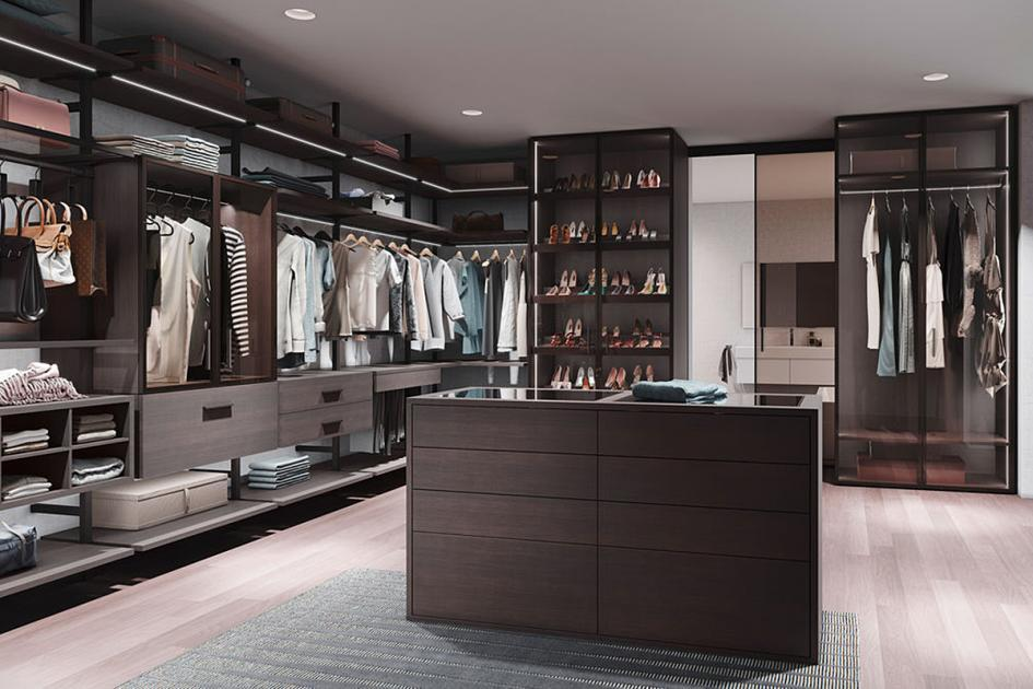 Moderne Schlafzimmer Mit Ankleidezimmer