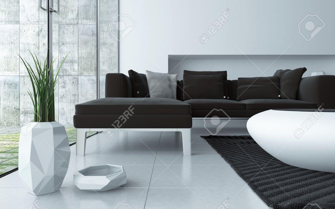 Moderne Sitzgruppe Wohnzimmer