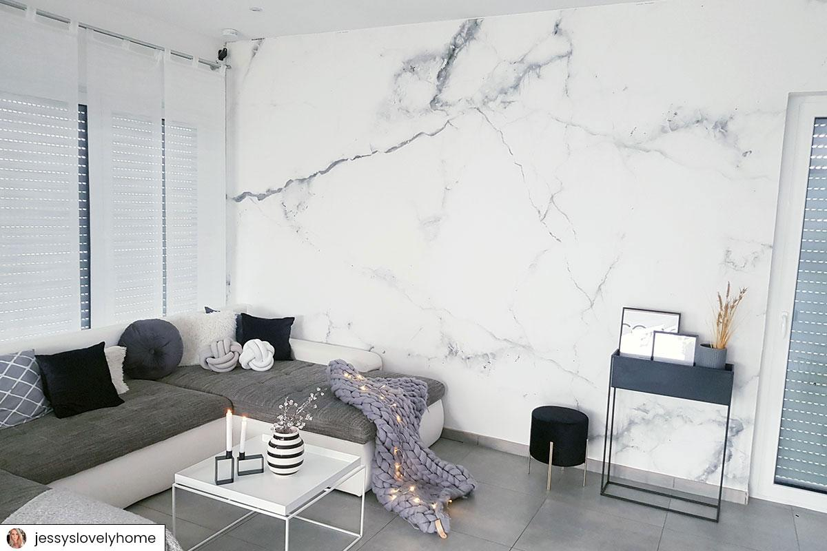 Moderne Tapeten Wohnzimmer Bilder