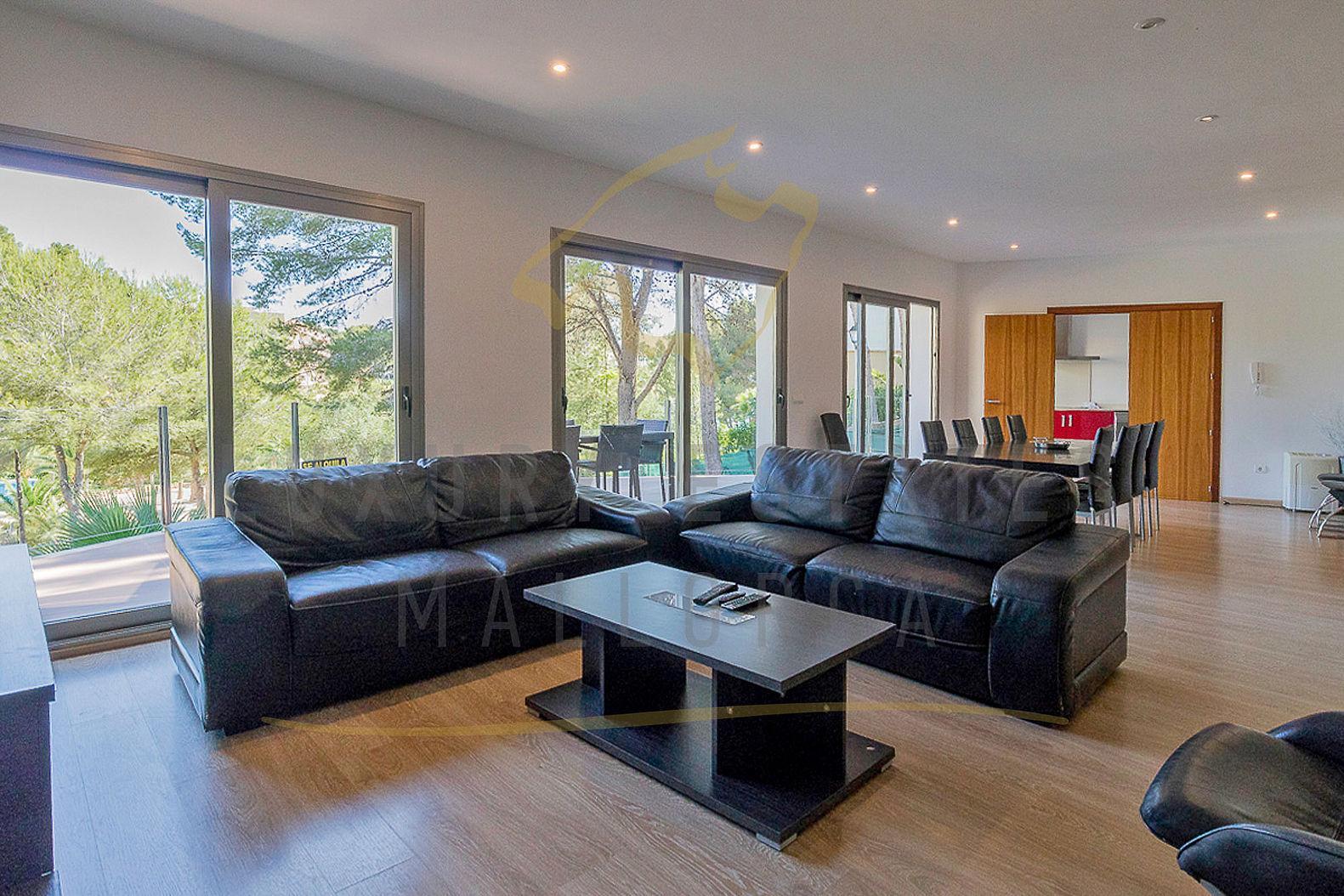 Moderne Villa Wohnzimmer