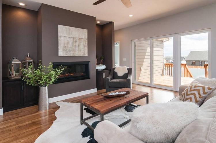 Moderne Wandfarben Ideen Wohnzimmer