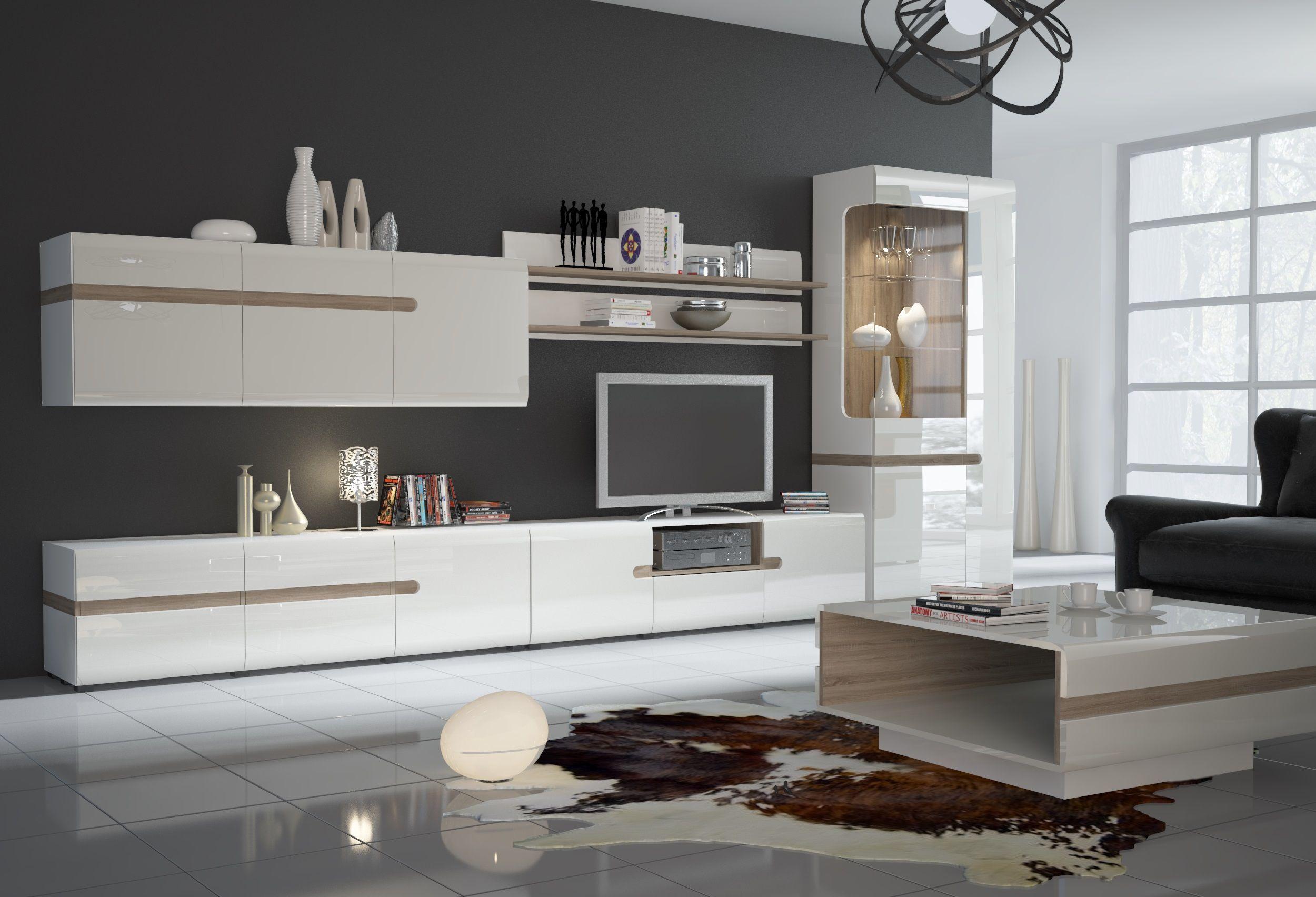 Moderne Wohnzimmerschränke Weiß