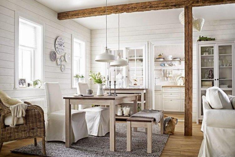 Moderner Landhausstil Esstisch Landhausstil Ikea