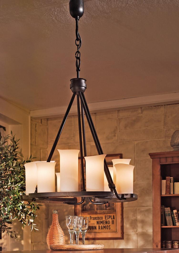 Moderner Landhausstil Esszimmer Lampe Landhaus