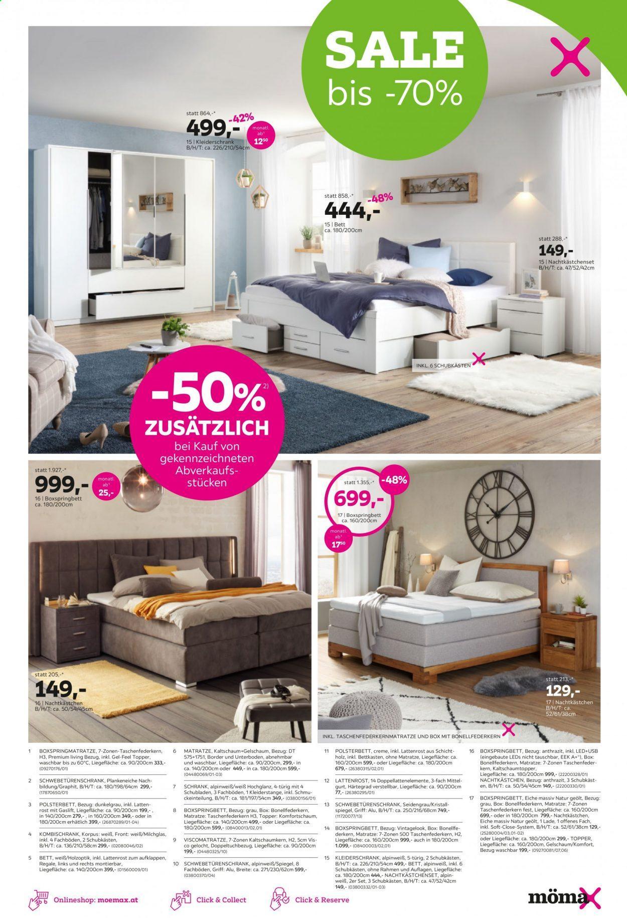 Mömax Schlafzimmer Set