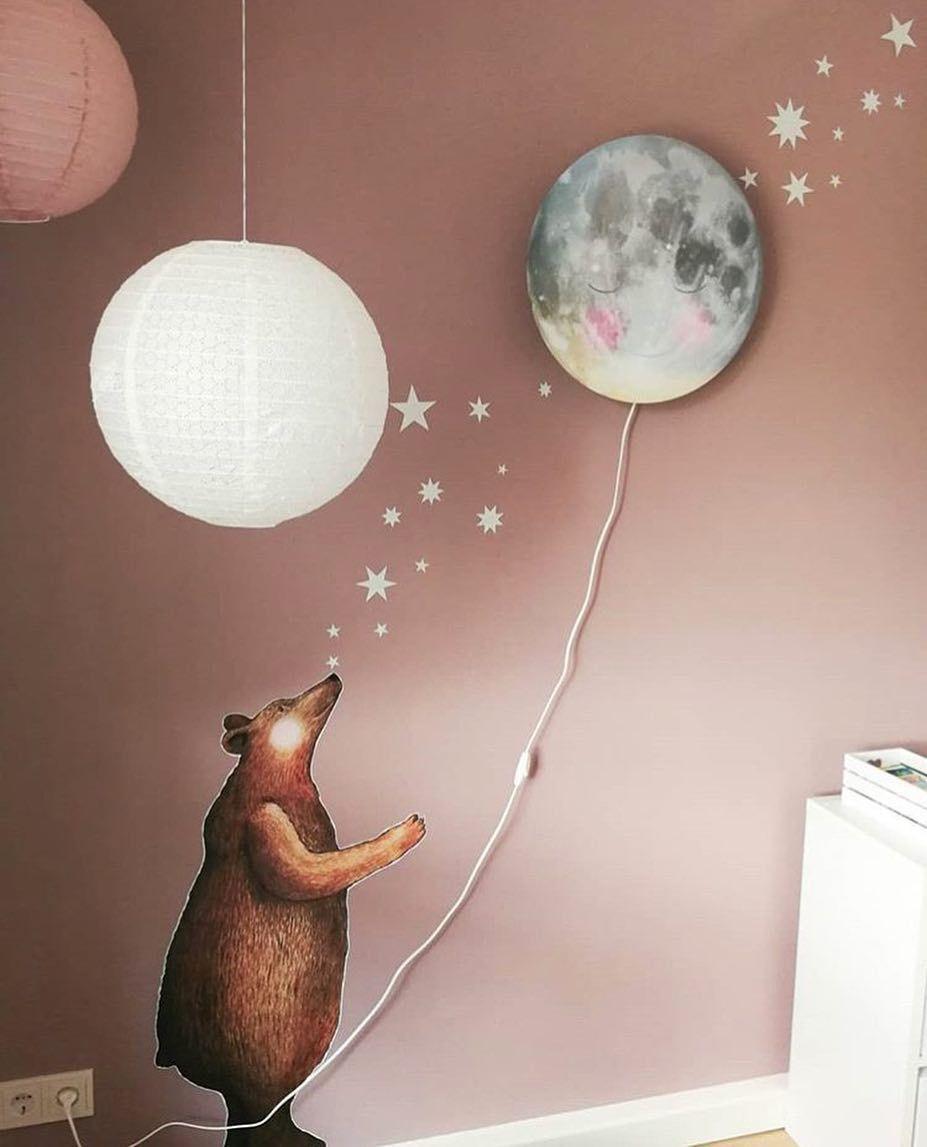 Mond Lampe Hartendief