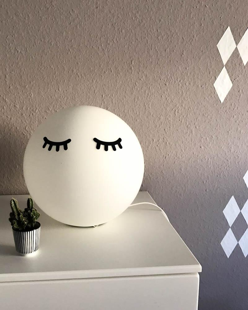 Mond Lampe Ikea