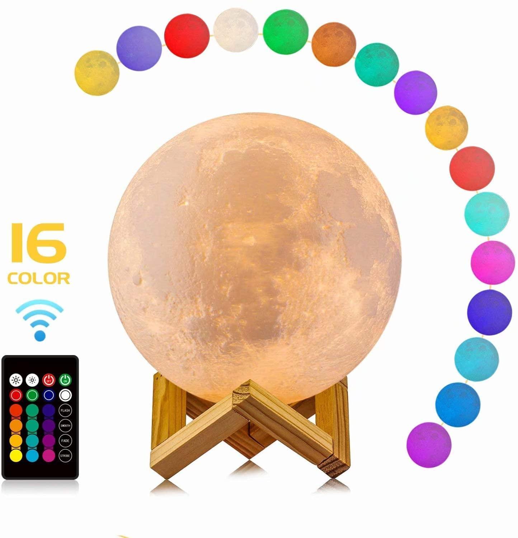 Mond Lampe Personalisierte Mit Bild