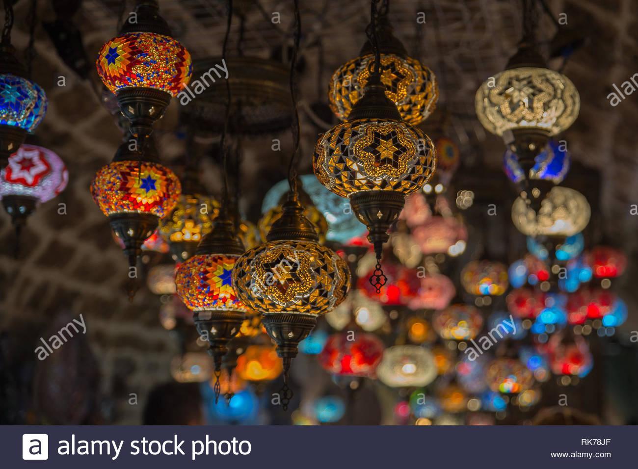 Mosaik Lampe Orientalisch