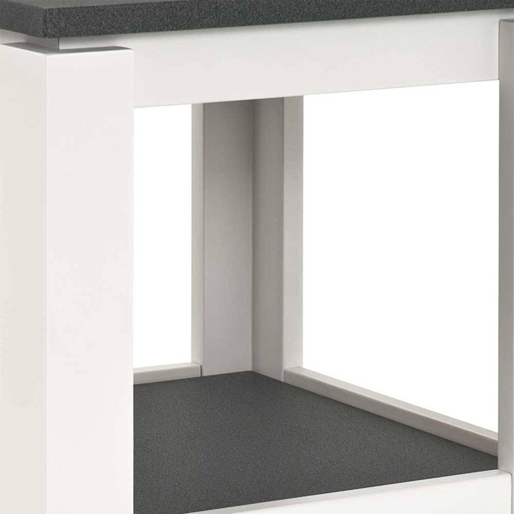 Nachttisch Boxspringbett Weiß