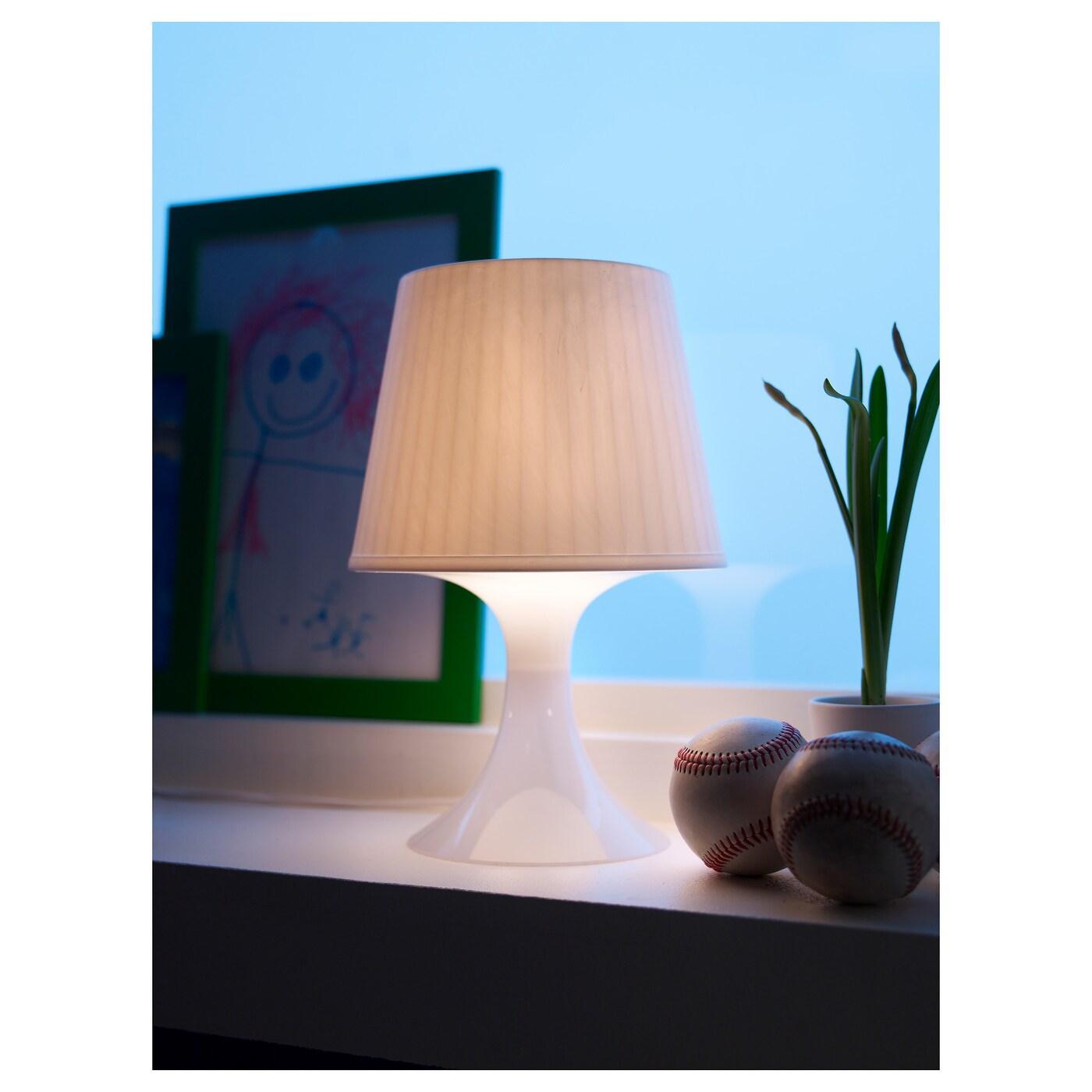 Nachttischlampe Gold Weiß