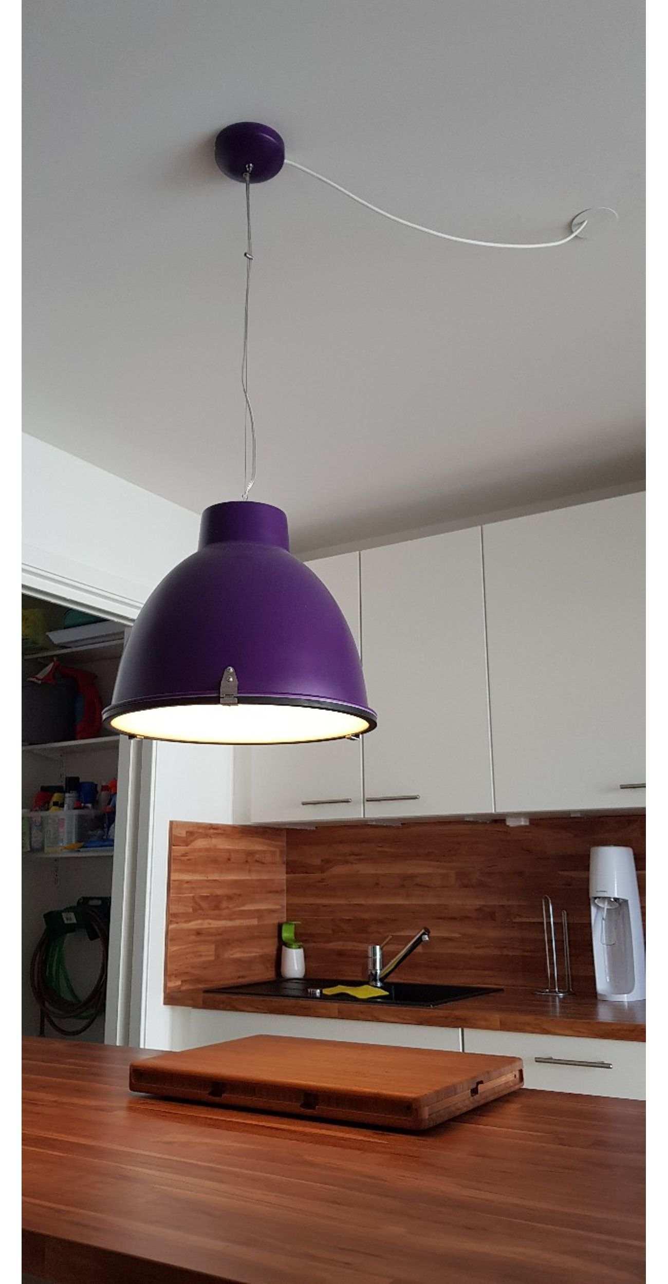 Nachttischlampe Industrial Design