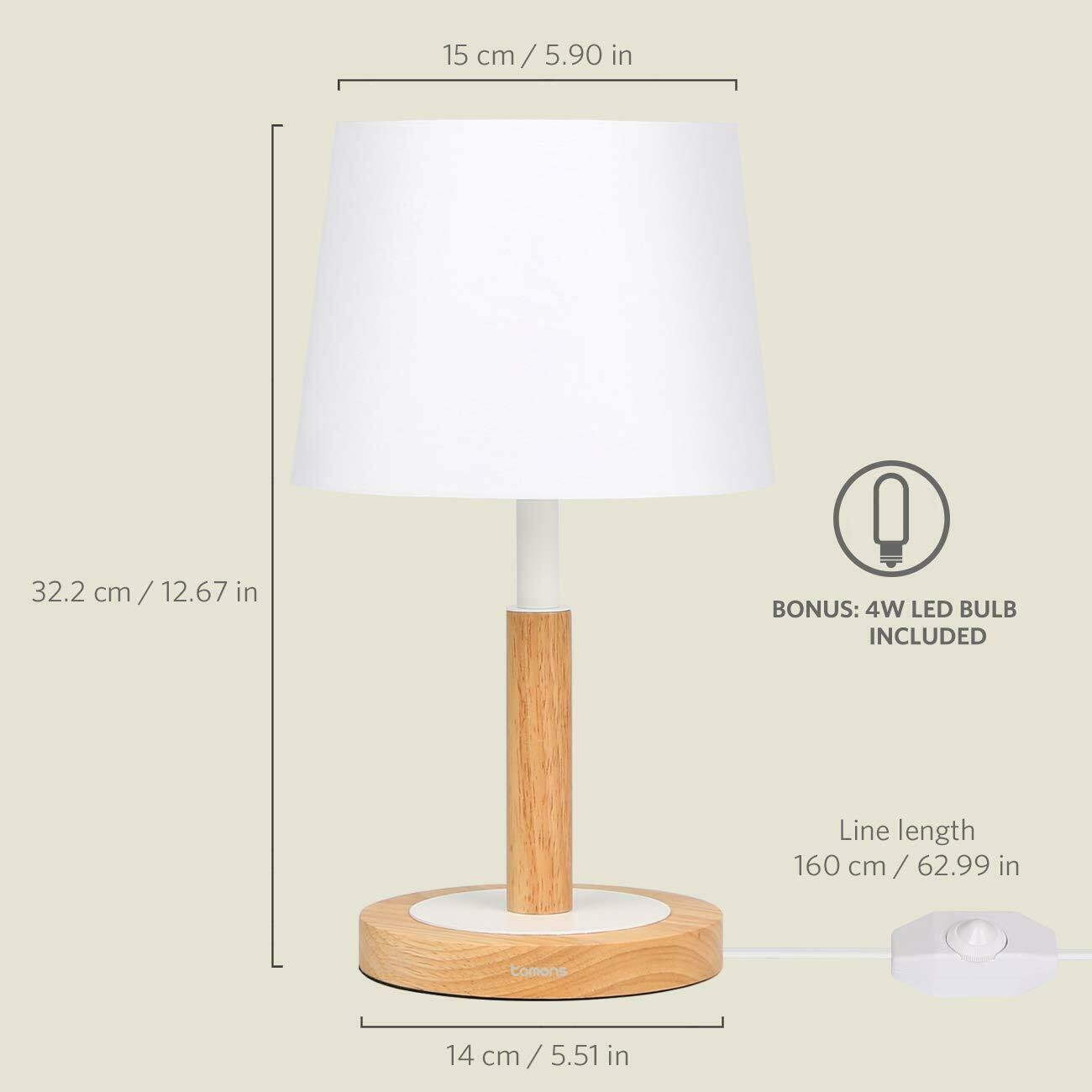Nachttischlampe Tischlampe Modern