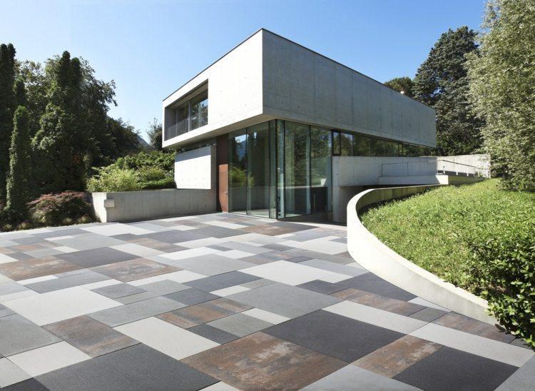Naturstein Terrassenplatten Beige